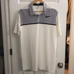 Nike Golf Polo White Large